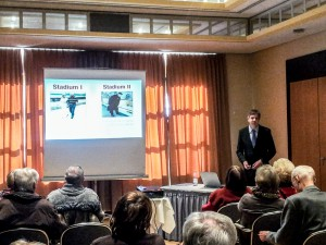 Vortrag über Gefäßkrankheiten von Dr. Longwitz